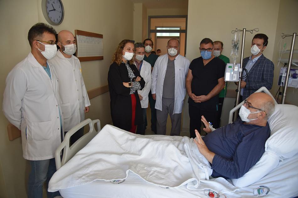Organ Nakli Merkezimizde İlk Böbrek Nakli Gerçekleştirildi